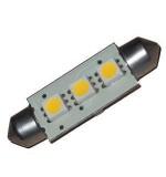 LAMPADINA 3 LED SMD 10-30V