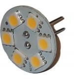 LAMPADINA G4 6 LED 10-30V